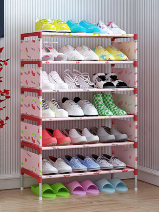 Picture of Simple Style Multi-Layer Shoes Rack Multi-Functional Home Dorm Books Sundries Organizer - Size:One Size