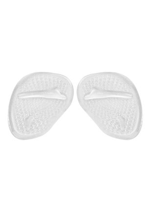Picture of One Pair Silicone Gel Forefoot Shoes Cushion Insole Feet Pain Relief Foot Care