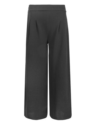 Picture of Women's Casual Pants OL Style Solid Color High Waist All Match Wide Leg Pants-Size: XL