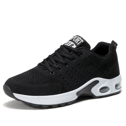 Picture of Men's Running Shoes Breathable Anti-skidding Comfy Shoes-Size: 45