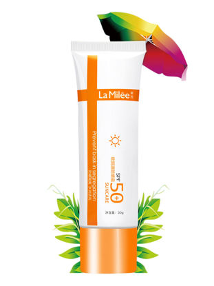 Picture of La Milee Suncreen UV Protection  SPF50+ Moist Portable Concealer Whitening Sun Care-