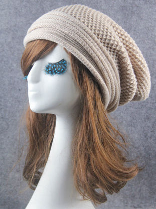 Picture of Women's Skullies Solid Color Knitted Warm Simple Design BeaniesSize: One Size