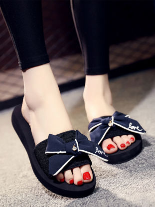 Picture of 1 Pair Women's Slippers Casual All-match Cozy Sandals-Size: 38