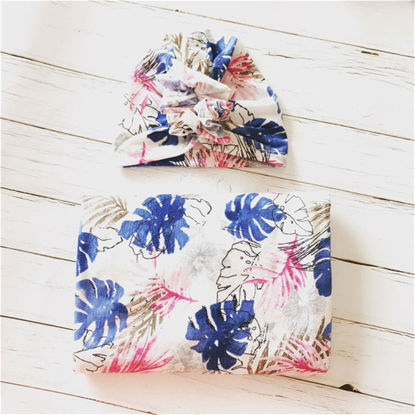 Picture of Ylsteed 2Pcs Blanket & Swaddling Floral Cute Fashion BeddingSize: Free