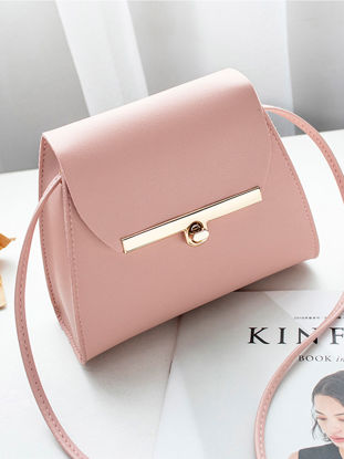Picture of Women's Crossbody Bag Ladylike Solid Color Elegant Chic Bag-Size: One Size