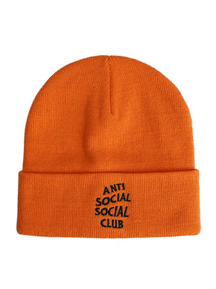 Picture of Women's Skullies Solid Color Letter Pattern Casual Warm Comfy Soft Beanies AccessorySize: One Size