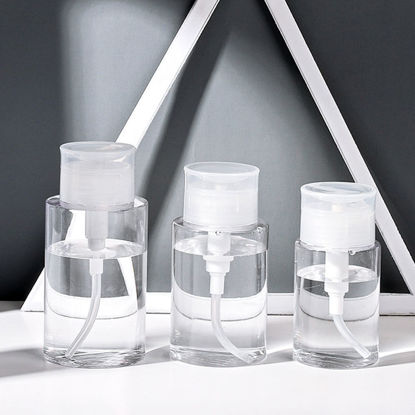 Picture of 2Pcs Travel Bottles Large Capacity Lightweight Durable Travel Storages-Size: M