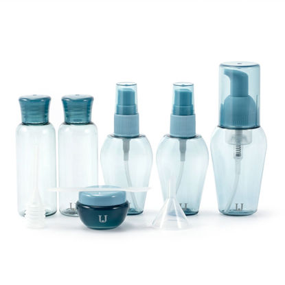 Picture of 6 Pieces Travel Sub-Bottles Portable Transparent Simple Travel Sub-Bottles-
