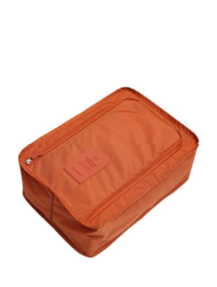 Picture of Portable Cuboid Solid Shoes Storage Bag-