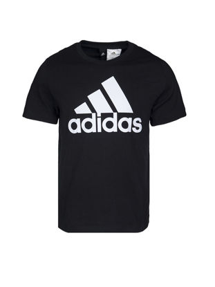 Picture of Adidas ESS LINEAR TEE Men's T Shirt O Neck Logo Print Top-Size: L