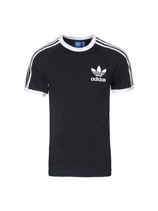 Picture of Adidas Men's T Shirt Logo Print O Neck Classic Breathable Trendy Top-Size: L