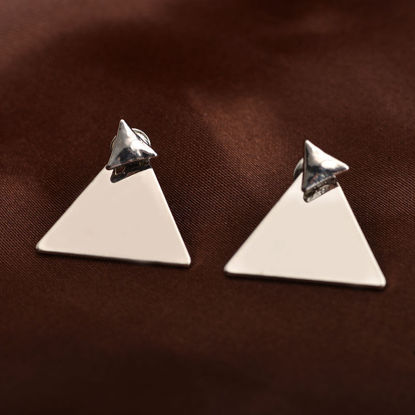 Picture of Women's Studs Trendy Triangle Faddish Earrings Accessory-Size: One Size
