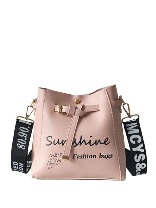 Picture of Women's Crossbody Bag Letter Pattern Stylish Casual Bag-Size: One Size