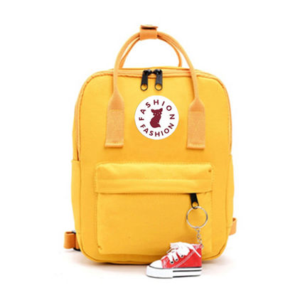 Picture of Women's Backpack Stylish All Match Solid Color Bag-Size: Free