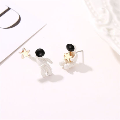 Picture of Women's Studs Creative Fashionable All Match Earrings Accessory-Size: One Size