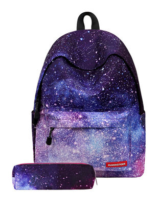 Picture of Kid's Backpack Comfy Multifunctional All Match SchoolbagSize: COLOR:Purple