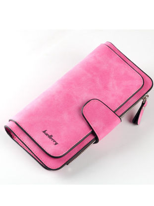 Picture of Women's Purse Brief Style Faddish Preppy All Match Ladylike Long Bag-Size: One Size