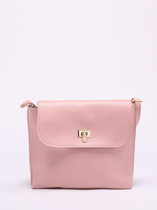 Picture of Women's Crossbody Bag Solid Color Hasp Lock Elegant Simple Vintage Bag-Size: One Size