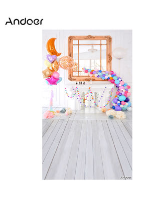 Picture of Andoer 1.5 * 0.9m/5 * 3ft Photography Background Birthday Party Design Studio Backdrop-Size: Free