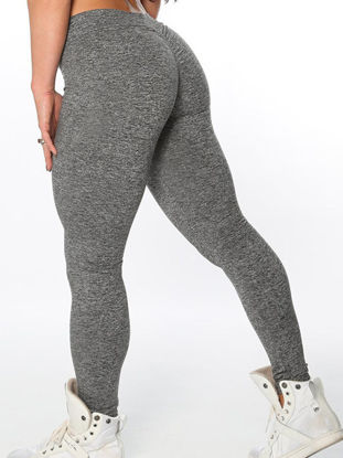 Picture of Women's Sports Pants High Elasticity Simple Comfortable Women's Sports Clothing-Size: M