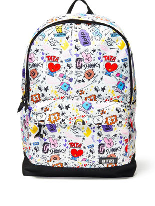 Picture of 1Pc Kid's Backpack Colorful Cartoon Pattern Unisex School BagSize: One Size