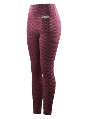 Picture of Women's Training Pants Breathable Fitness Sports Pants-Size: M