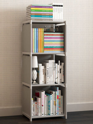 Picture of Book Shelf Easy to Install High Quality Practical Home Essential Shelf-Size: S