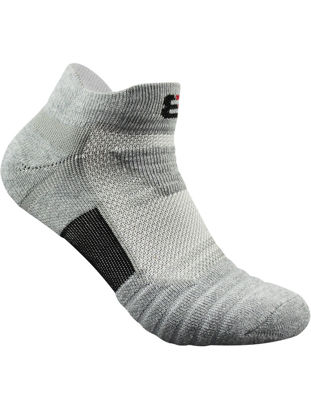 Picture of Men's 1 Pair Ankle Socks Thicken Breathable All Match Cozy Athletic Socks-Size: Free