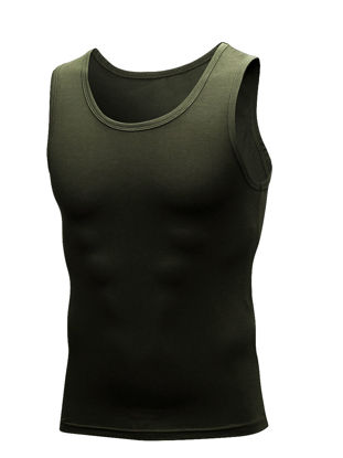 Picture of Men's Sports Vest Quick Drying Sleeveless Activewear Vest - Size: 3XL