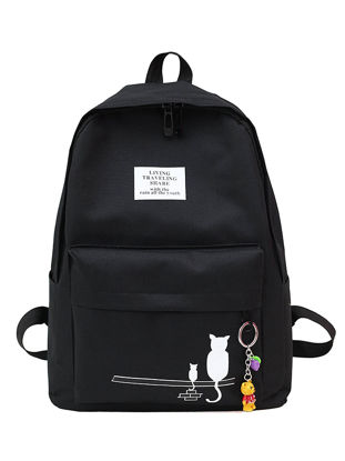 Picture of Women's Backpack High Quality Stylish Travel Bag School Bag - Size: One Size