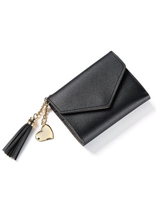 Picture of Women's Purse Tassels Sweet Ladylike Chic Fashion Casual Wallet - Size: One Size