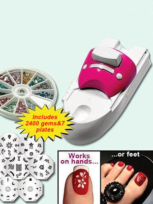 Picture of Beauty Tools Nail Painting Arts Device Kits All-In-One Nails Art Machine For Women Nail Printing Kit