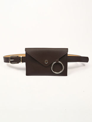 Picture of Women's Belt Bag Stylish All-Match Waist Bag Mobile Phone Pouch Chic Accessory - Size: One Size