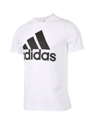 Picture of Adidas Men's T Shirt Plain Style Classic All Match Comfy Sports T Shirt - Size: XL