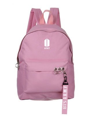 Picture of Women's Backpack Solid Color Casual Simple Design Backpack - Size: One Size
