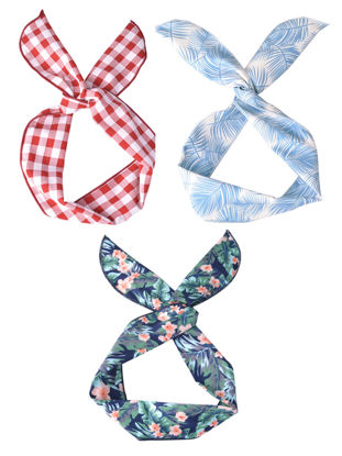 Picture of 3 Pcs Women's Hairbands Lovely Style Hairband Hair Accessory - Size: One Size