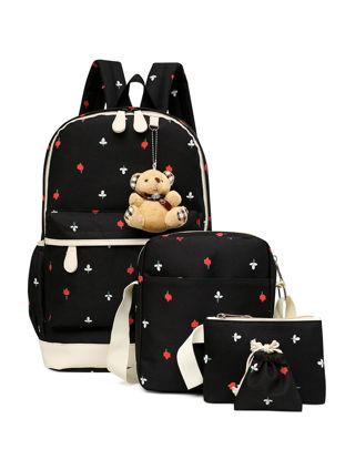 Picture of Kid's Backpack Set Large Capacity Multifunctional School Bag - Size: One Size