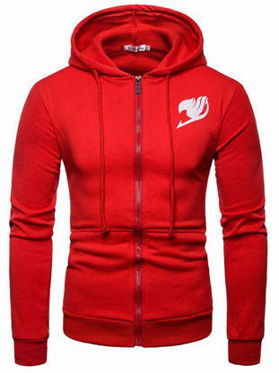 Picture of Men's Hoodie Stylish Street Popular Color Block Good Quality Hoodie - Size: L
