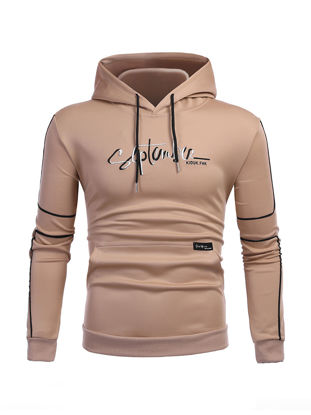 Picture of Men's Hoodie Pattern Print Hooded Long Sleeve Stylish Hoodie - Size: XL