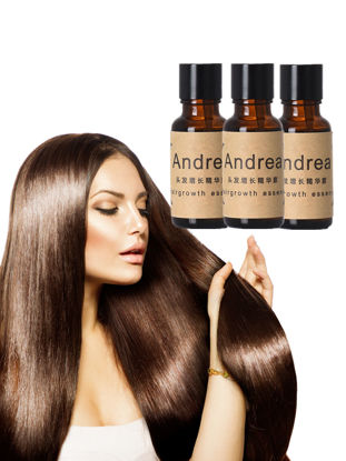 Picture of 3 Pieces Andrea Hair Growth Essence Anti-Hair Loss Hair Serum Hair Care for Men and Women