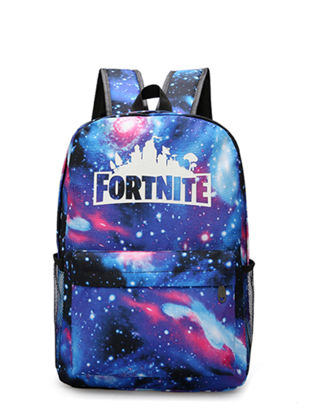 Picture of Fortnite Students Backpack Creative Design Colorful Faddish Boy'sSchoolBag - Size: One Size