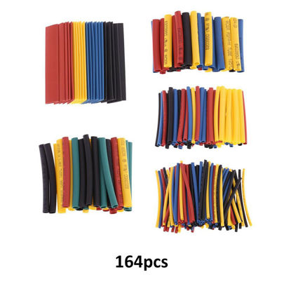 Picture of 8 Sizes Professional Colorful Polyolefin 2:1 Halogen-Free Heat Shrink Tubing Tube Sleeving φ1.0-φ14.0
