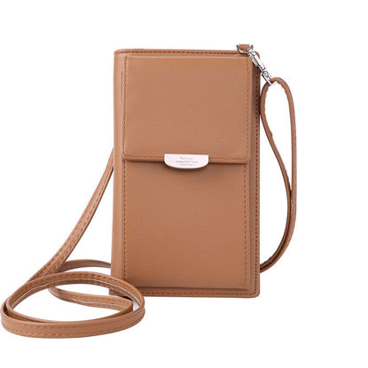 Picture of Women's Purse Solid Color Casual Snap Bag - Size: One Size