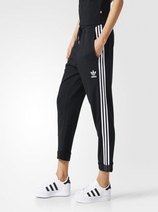 Picture of Adidas Women's Sports Pants Casual Striped Breathable Trousers - Size: M