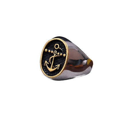 Picture of Men's Ring Retro Style All Match Fashion Accessory - Size: 12