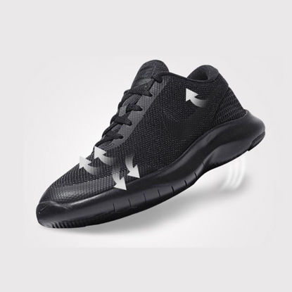 Picture of Nike FLEX EXPERIENCE RN 7 Men's Running Shoes Solid Color Low Top Lacing Breathable Sports Shoes - Size: 40