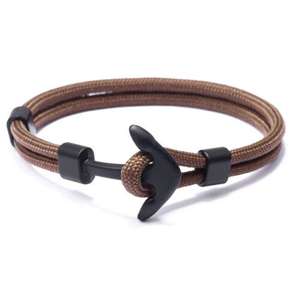 Picture of Men's Woven Bracelet Patchwork Trendy Accessory - Size: One Size