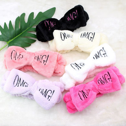 Picture of 2Pcs Women's Hairbands Bowknot Lovely Chic Hair Accessories - Size: One Size