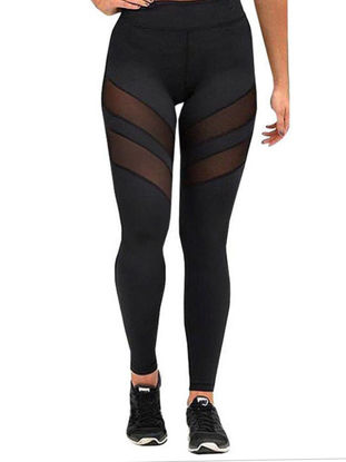 Picture of Women's Active Pants Fitness Hollow Out Lift Hip Leggings - Size: XL