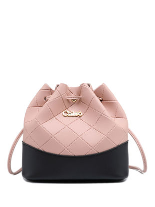 Picture of Women's Crossbody Bag Fashion Casual Colorblock Bag - Size: One Size